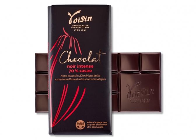 Noir intense 70% cacao