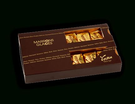 Boite Marrons glacés - Chocolats Voisin
