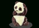 Panda de Pâques - Chocolats Voisin